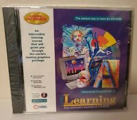 Corel CD Home: Learning Corel Draw 3 | CD 1996 For Windows 3.1 Win95 *NEW SEALED
