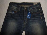 """NEW* G-STAR RAW 3301 Mens Jeans Denim Bootcut Fit Waist 33"""" Leg 36"""" W33 L36"""