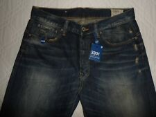 "NEW* G-STAR RAW 3301 Mens Jeans Denim Bootcut Fit Waist 33"" Leg 36"" W33 L36"