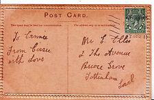 Genealogy Postcard - Family History - Ellis - Bruce Grove - Tottenham  749A