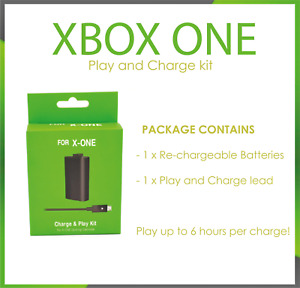 Xbox One Controller Rechargeable Battery Pack Plug And Play Charge Wire Dock