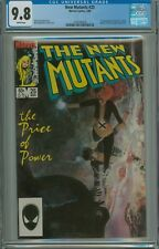 NEW MUTANTS 25 CGC 9.8 FIRST APPEARANCE LEGION WHITE PAGES X-MEN