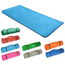 Yogamatte Gymnastikmatte Fitnessmatte183x80x1,5cm Hellblau 100% schadstofffrei!