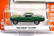 FORD SHELBY GT-350H MUSTANG 1966 IVY GREEN  GREENLIGHT MUSCLE 14 13140 1:64 NEW