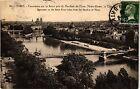 CPA PARIS Panorama sur la Seine pris du Pavillon de Flore (302640)