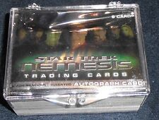 STAR TREK  NEMESIS  - COMPLETE  72  CARD BASE SET