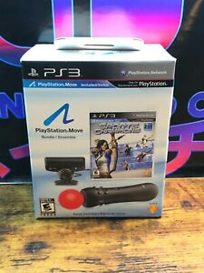 Sony Playstation 3 Move Bundle NEW SEALED Controller Camera Sports Champion