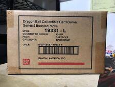 DRAGON BALL Z BANDAI AWAKENING SEALED CASE 6 BOOSTER BOX AUTHENTIC SERIES 2