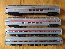 Lot of 4 Bachmann Amtrak Ho Scale