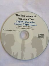 Epic Casebook of Inspector Carr - Detective OLD Time RADIO series Mp3 CD