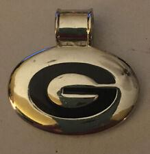 University of Georgia G with ENAMEL Large Pendant Silver