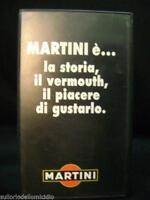 videocassetta originale spot pubblicità martini charlize theron vintage