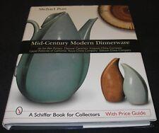 Mid-Century Modern Dinnerware Michael Pratt Schiffer Collector Bk Price Guide