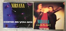 NIRVANA 2 CD Maxi-Singles~Come As You Are, Smells Like Teen Spirit ++