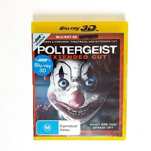 Poltergeist Extended Cut Movie 3D Bluray Movie Free Postage Blu-ray - Horror