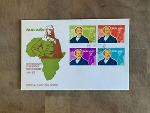 MALAWI 1973 FDC OR USED DAVID LIVINGSTONE MAP AFRICA MISSIONARY EXPLORER
