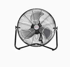 Utilitech 20-in 3-Speed Indoor Black/Powder Painting Personal Fan