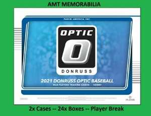 Keegan Akin Baltimore Orioles 2021 Panini Donruss Optic 2X Case 24X BOX BREAK #7