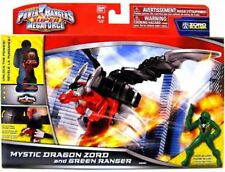 Super Megaforce Zord Builder Mystic Dragon Zord & Green Ranger Action Figure