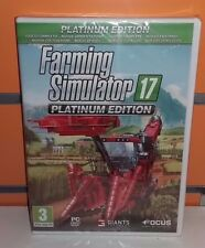 Farming Simulator 2017 - Platinum Edition PC NUOVO SIGILLATO ITA