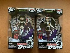 Begoths Series 4 Lunabella Whispers & Cyberella D'Nile Gothic Doll Lot New