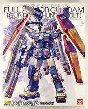 Bandai MG 075899 GUNDAM Full Armor Gundam (Thunderbolt Ver.) 1/100 scale kit