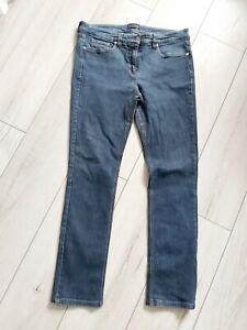 "WHITE COMPANY Size 16 Straight Leg Jeans L29"" Blue Mid Rise"