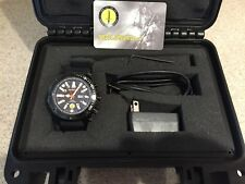 MTM Watch Vulture black with rubber strap Style 2 - Used in excellent condition