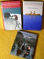 3 x Elke Heidenreich - nur gebundene Bücher - Michael Sowa - Top Paket