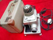 Vintage 60's Paximat slide projector and fan + fitted suitcase style carry case