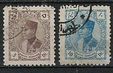 1Iran Stamps: 1933-34 SC#771-72 Used