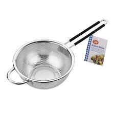 Tala Stainless Steel Sieve 16.5 CM With Soft Grip Comfort Handle For Easy Of Use