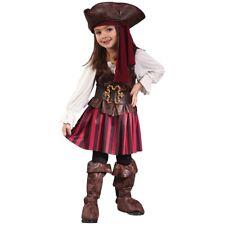 Pirate Girl Costume Toddler Halloween Fancy Dress