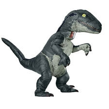 Jurassic World Inflatable Velociraptor Costume Adult Dinosaur Cosplay Raptor