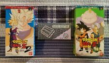 Dragon Ball Z 2 + 3 + Adaptor Super Famicom Nintendo SNES CIB