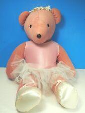 "20"" North American Bear Co Pink ""Anna Bearvlova"" Ballerina Bear 1979"