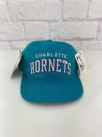 NWT Vintage 90s Charlotte Hornets ARCH Starter NBA Snapback Hat Cap 1990s NEW
