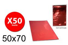 Balmar PF600107 - Taschen Geschenk Mtg-Größe - Rot - 50X70 - Conf. 100 Stk Balma