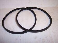 Clarke CDP-201B Drill Press Drive V Belts. Pair CDP201B