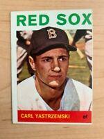 1964 Carl Yastrzemski Topps Baseball Card #210 (Original/Miscut)