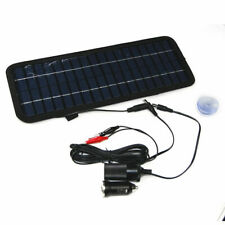 Solar Powered Car Auto Boat Motorcycle 12V Battery Maintainer Trickle Charger MT