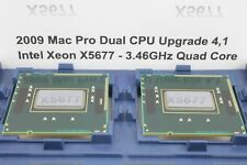 Pair Delidded Intel Xeon 3.46GHz Quad X5677 IHS Removed 2009 4,1 Mac Pro Upgrade