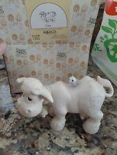New ListingPrecious Moments Porcelain Figurine Cow Nativity
