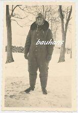 Foto Luftwaffe Pilot -Fliegerhaube  (a467)