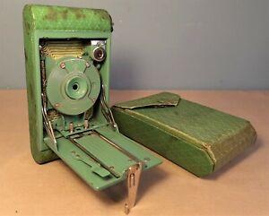 Antique Folding Kodak Petite Camera with Case, not opening