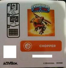 Chopper Skylanders Trap Team Sticker / Code Only!