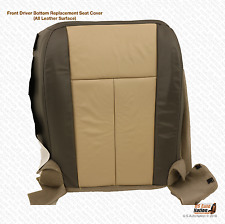 2010 Ford Expedition Eddie Bauer Driver Bottom Replacement Leather Seat Cover