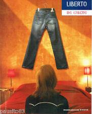 PUBLICITE ADVERTISING 056  2004   Liberto  jeans pour femme *
