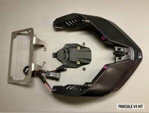 DUCATI Panigale V4 SMOKE Integrated taillight KIT (plate holder+ oem block off)