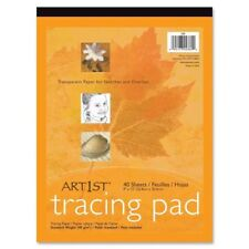 """NEW Pacon Drafting and Tracing Paper (PAC2369) bleed proof 40 Sheets 9"""" x 12"""""""